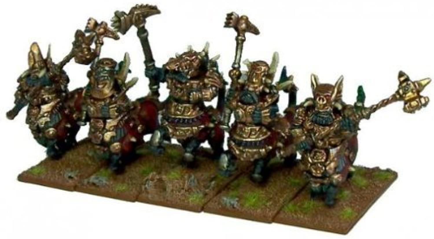 Kings of War  Abyssal Dwarfs Halfbreed Cavalry (10) by Mantic Entertainment