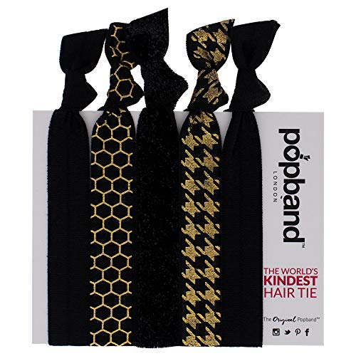 Popband Nuit - Paquet de 5 Élastiques à Cheveux Popbands