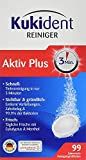 Kukident Aktiv Plus Express, Pack de 3 x 99 Tabletas