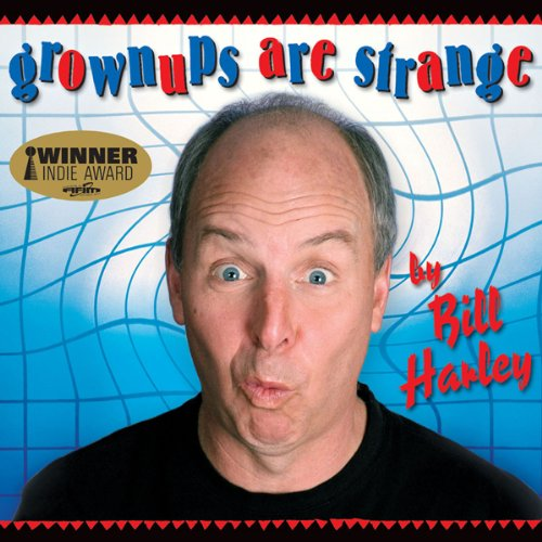 Grownups Are Strange audiobook cover art