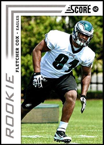 2012 Panini Score Rookie #331 Fletcher Cox NM-MT RC Philadelphia Eagles Official NFL Football Card