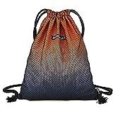 Bolso de cordón, Bolsa de Baloncesto Deportivo de Gran Capacidad, Bolsillo de cordón liviano para Hombres y Mujeres, Bolso de Red de Viaje al Aire Libre (Color : A)