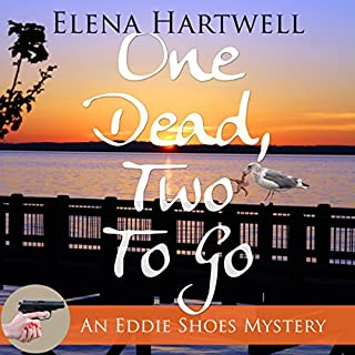 One Dead, Two to Go  audiobook cover art
