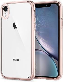 Spigen Ultra Hybrid Serisi Kılıf iPhone XR ile Uyumlu / TPU AirCushion Teknoloji / Ekstra Koruma - Rose Crystal