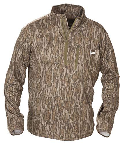 1//4 Zip Waterproof Hooded Pullover-Bottomland-XL
