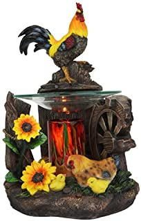 Electric Rooster Oil Warmer