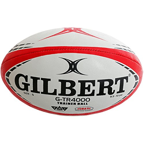Gilbert G-TR4000 Rugby Training Ball - Red (5)
