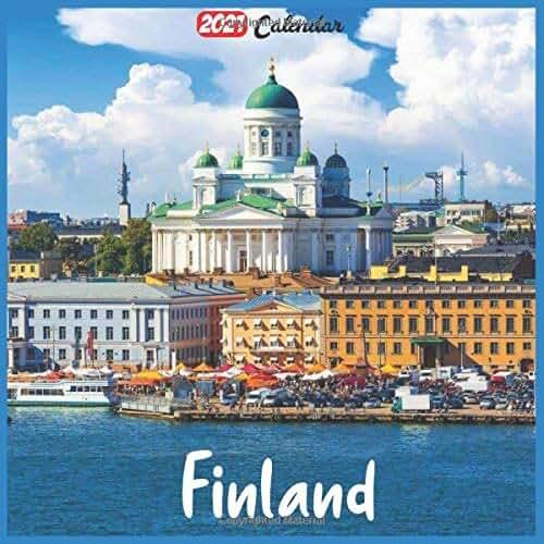 Finland 2021 Calendar: Official Finland Wall Calendar 2021, 18 Months