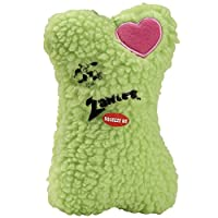 Zanies Poly/Cotton Embroidered Heart Berber Bones Dog Toy [並行輸入品]