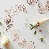 Ginger Ray – Décoration motif floral