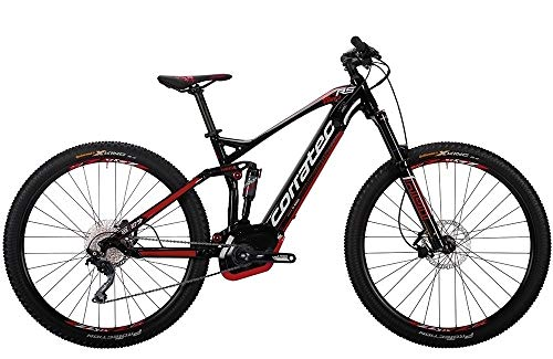 Corratec E-Power RS 150 29 CX Herren E-Bike 500Wh E-Mountainbike schwarz/rot RH 46 cm / 29 Zoll