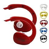 emartbuy Gblue Rouge S80 Bluetooth Stéréo sans Fil Casque de Sport Écouteurs dans Supports d'oreille Mains Libres Calling avec...