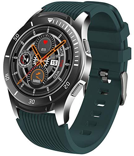 XWZ Reloj Inteligente Reloj De Pulsera Rastreador De Ejercicios Reloj Inteligente Pulsera Actividad Rastreador De Ejercicios Reloj Inteligente Deportivo Pantalla De 1,28 Pulgadas,Verde