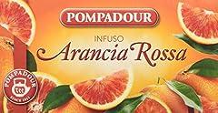 Idea Regalo - Pompadour Infusione per Bevande Calde, Arancia Rossa - 20 filtri - [confezione da 3]