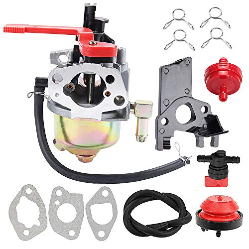 Harbot 951-10956A Carburetor for MTD Cub Cadet Troy Bilt Yard Machines 951-10956 751-10956 751-10956A 21'' 123CC 208CC Squall Snow Blower with Gasket Repower Kit