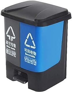 ZXJshyp Outdoor Trash Can Classification Trash Can, Recycling Bin, Ultra-Thin Kitchen Trash Can Trash Can (Size : 50L)