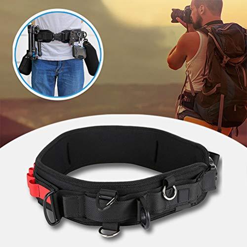 Einsgut camera heupriem camera houder clip voor riem en rugzak met D-ringen voor camera DSLR SLR DV