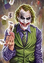 The Joker DIY 5D Full Drill Diamond Painting Kit, Canvas Wall Décor | Canvas Size 50 x 50 cm | 19.7 x 19.7. inches | kit C...