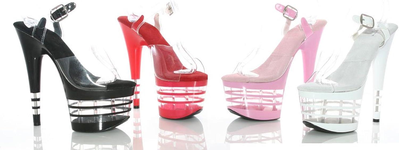 Ellie 709-STACK 7  Pointed Stiletto Sandal