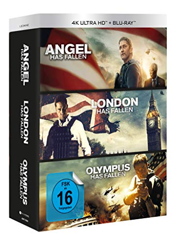 Olympus/London/Angel has fallen - Triple Film Collection UHD Blu-ray (3x 4K Ultra HD) (3x Blu-ray)