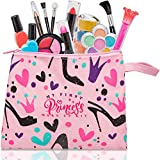 FoxPrint My First Princess Make Up Kit - 12 Pc Kids Makeup Set Washable Makeup For Girls These Makeup Toys for...