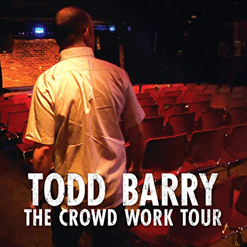 Todd Barry audiobook cover art