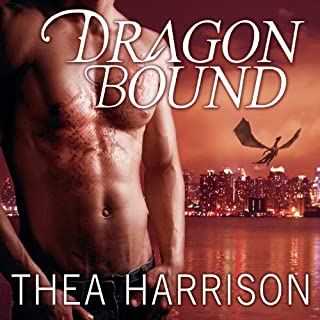 Dragon Bound     Elder Races Series #1              By:                                                                                                                                 Thea Harrison                               Narrated by:                                                                                                                                 Sophie Eastlake                      Length: 12 hrs and 55 mins     5,620 ratings     Overall 4.5