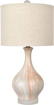 "Crestview Collection CVAZP037 26.75"" H Ceramic + Crystal lamp 1PK/2.41' Lighting"