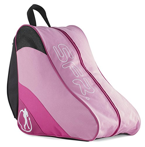 Sfr Skates SFR Ice & Skate Bag II, Bolsa de tela y de playa Unisex Adulto, Rosa (Pink), 24x15x45 cm (W x H x L)