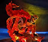 AMrjzr El Valle del vórtice Final Naruto se Puede iluminar figura-33CM-estatua de PVC...