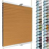 SchattenFreude Waben-Plissee für Fenster | 100%...