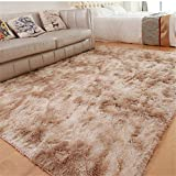 SONGHJ Polyester Peluche Tapis Simple Rectangle Absorption d'eau Antidérapant Tapis...