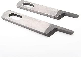 KUNPENG - Upper Knife fit for BERNINA & Bernette 003,004 JUKI SERGER MO-623 MO-634 SERGER #50143403 (2PCS)
