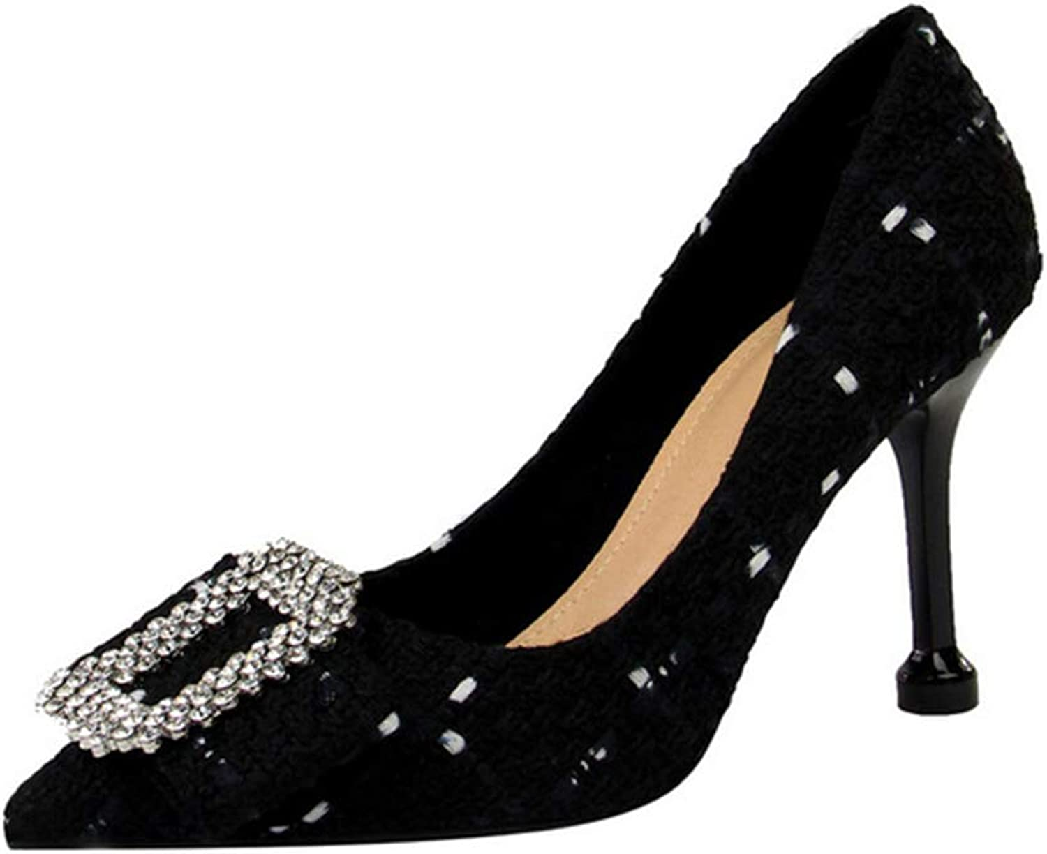 Drew Toby Women Pumps Shallow Mouth Pointed Toe Sweet Fashion High Heels