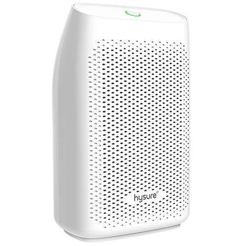 hysure Dehumidifier 700ml Portable Small Dehumidifier for Home Auto-OFF, Ultra Quiet Dehumidifier for Home Damp/Mould/Moisture in Small Room/Kitchen/Bedroom/Wardrobe