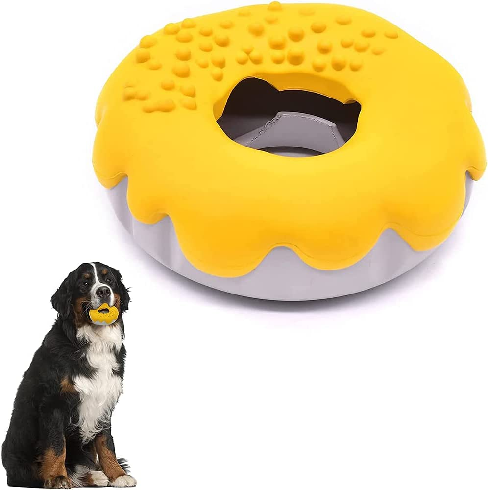 Magust Squeaky Dog Toy Active Cleaning for Interacti San Antonio Mall chew Sale Teeth