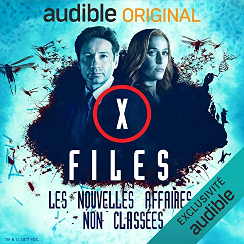 Page de couverture de X-Files. Deuxième partie