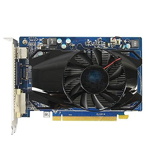FIT FOR Sapphire HD6570 1GB para Tarjeta de Video AMD GPU Radeon HD 6570 GDDR5 128Bit Tarjetas gráficas PC Juego de computadora para Tarjetas de Video HDMI