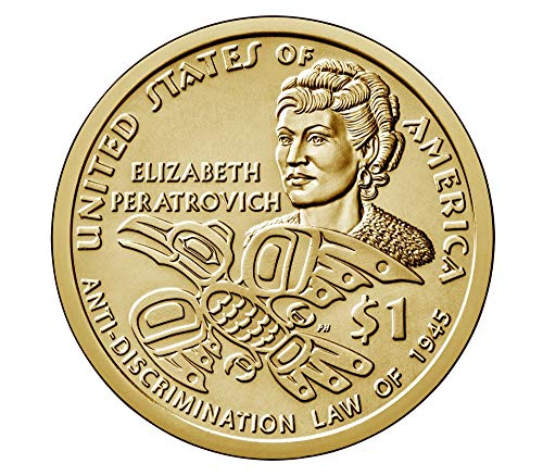 2020 P, D Native American (Sacagawea/Golden) Dollar 2 Coin Set Uncirculated