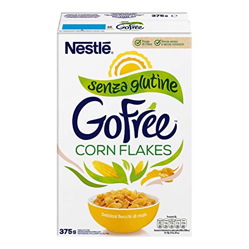 GO FREE CORN FLAKES Fiocchi di Mais senza Glutine 375 g