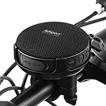 Adiport Bike Bluetooth Speaker,Portable Wireless Bicycle Speaker with Mount,Enhanced Bass&Loud Sound,10H Playtime,IPX7 Waterproof&Shockproof for Outdoor Riding