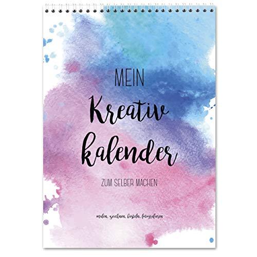 Bastelkalender zum Selbstgestalten im A4 Format