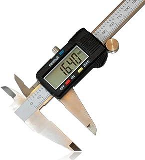 Test y medición Santonliso Vernier caliper IP54 pantalla digital impermeable Calibrador electrónico de acero inoxidable de alta precisión 0-150mm Size : 0-150mm