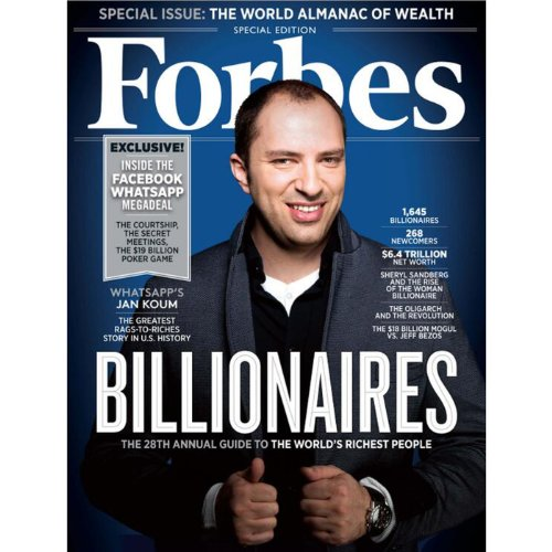 Forbes, March 10, 2014 cover art