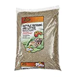Zilla Reptile Terrarium Bedding Substrate Litter...