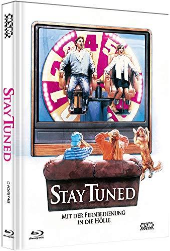 Stay Tuned - Mit Fernbedienung in die Hölle [Blu-Ray+DVD] - uncut - limitiertes Mediabook Cover B