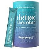 DETOX DRENANTE FORTE DIMAGRANTE - In Cacao In Polvere - Depurativo Vegan - Disintossicante - Liquido- 28 Bustine - Solo 25 Calorie - Detox Naturale Con Garcinia Cambogia L-carnitina Ginseng