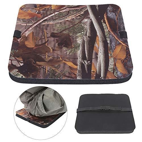 01 Coussin de Pique-Nique, Coussin d'assise extérieur étanche à l'humidité pour Pique-Nique pour la pêche pour Le Camping(Nouveau Camouflage Feuille)