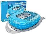 Giochi Preziosi 70022121 - Puzzle 3D Alianz Stadio Arena Münch, Blu