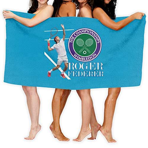 Roger Federer Wimbledon - Toalla de baño (secado rápido)